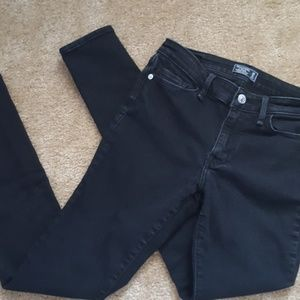 Abercrombie and Fitch Super Skinny Harper Low Rise